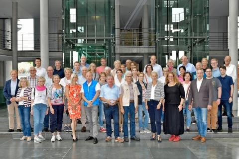 BPA-Fahrt im Juni 2018, Bild: BReg Atelier Schneider