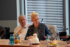Aussprache Silvia Breher Arbeitsgruppe Ernährung und Landwirtschaft