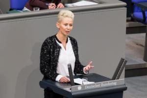 Silvia Brehers Bundestagsrede zum Weltfrauentag 2018 ©Daniel Rudolph
