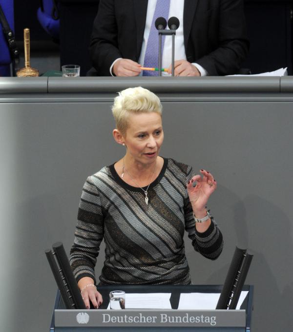 Silvia Brehers Bundestagsrede zum Thema Wolf ©Deutscher Bundestag Achim Mende